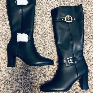 COPY - IMAN Black Calf High Boots